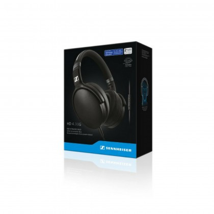 Sennheiser HD 4.30G Over-Ear Headphones with Integrated Mic & Remote for Android Devices (Black)
