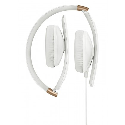 Sennheiser HD 2.30G Stylish Portable On-Ear Headset with Integrated Mic & Remote for Android Devices (White)