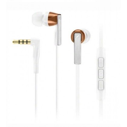 Sennheiser CX 5.00G In-Ear Headphones with Integrated Mic & Remote for Android Devices (White)