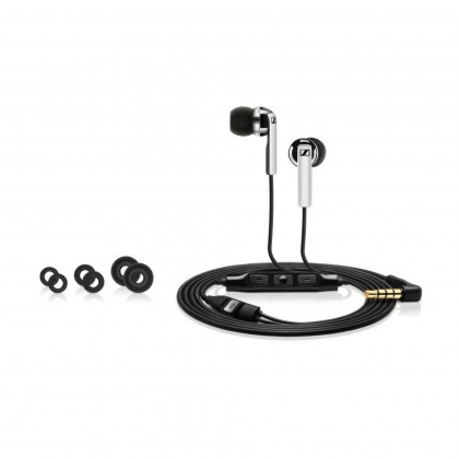 Sennheiser CX 2.00i In-Ear Headphones with Integrated Mic & Remote for iOS Devices (Black)