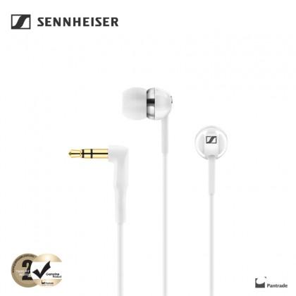Sennheiser CX 1.00 Bass Driven Wired In-ear Earphones (White)