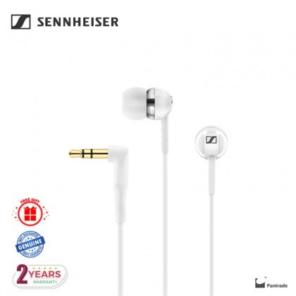 Sennheiser CX 1.00 Bass Driven Wired In-ear Earphones (White)