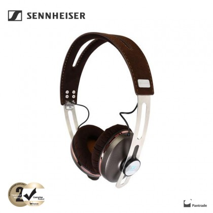 Sennheiser MOMENTUM On-Ear 2.0 i Wired Headphones with Integrated Mic & Remote for iOS Devices ( M2 OEI Brown)