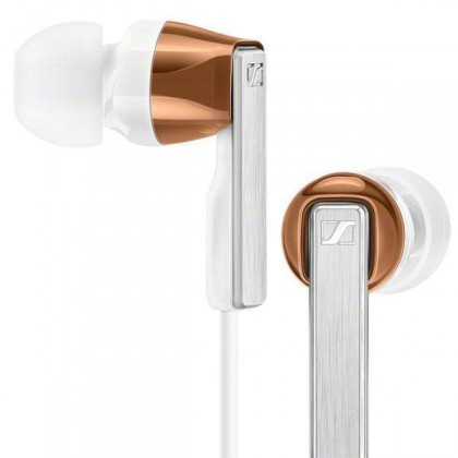 Sennheiser CX 5.00i In-Ear Headphones with Integrated Mic & Remote for iOS Devices (White)