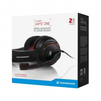 Sennheiser GAME ONE Open-Back Gaming Headset for PC, Mac, PS4 and Xbox One (Black)