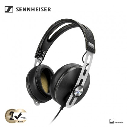 Sennheiser MOMENTUM 2.0 Wired Headphones with Mic for Android Devices (Black)