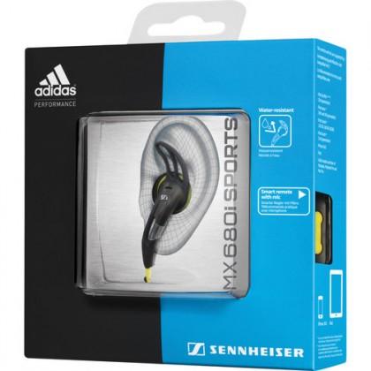 Sennheiser MX 680i - Adidas Sports Earbud Headphones for iOS Devices