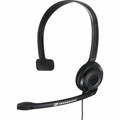 Sennheiser PC 2 CHAT - Chat Headset for Internet Telephony, Voip, Skype