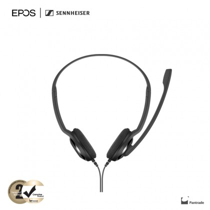 EPOS | Sennheiser PC 8 USB - USB Stereo PC Headset with Noise Cancelling Microphone