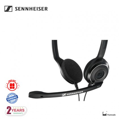Sennheiser PC 8 USB - USB Stereo PC Headset with Noise Cancelling Microphone