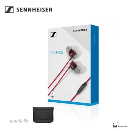 Sennheiser CX300S In-ear Design Earphones 3 colors available ( Black / Red / White)