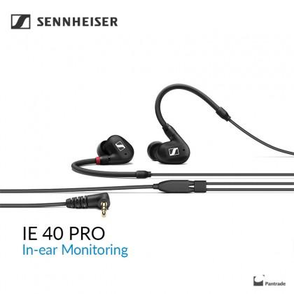 Sennheiser IE 40 PRO In-Ear Monitoring Headphones ( Black )