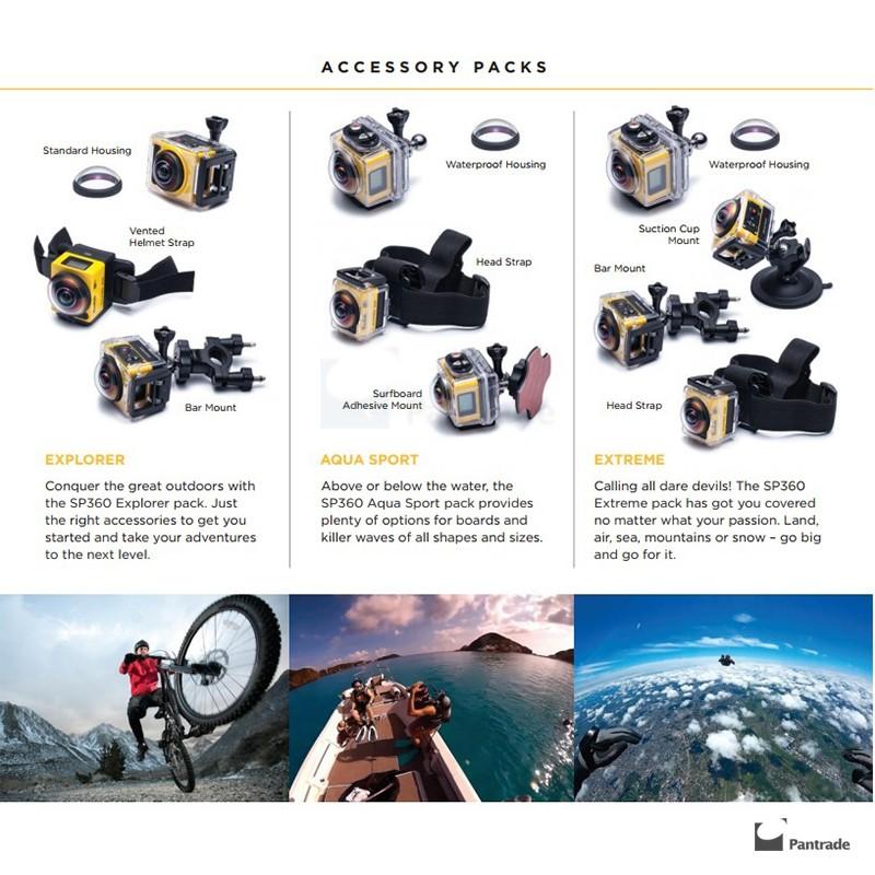 Kodak Action Camera - PixPro SP360 Extreme Pack - WiFi Full