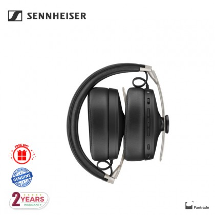 [READY STOCK] Sennheiser MOMENTUM 3 Noise-Canceling Wireless Over-Ear Headphones (Black)