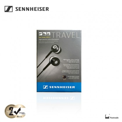 Sennheiser Ear Canal 300-II Travel with Aircraft Adapter