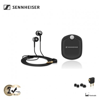 Sennheiser Ear Canal 300-II Travel with Aircraft Adapter