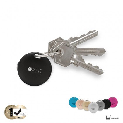 Orbit Tracker Keychain Key Colours