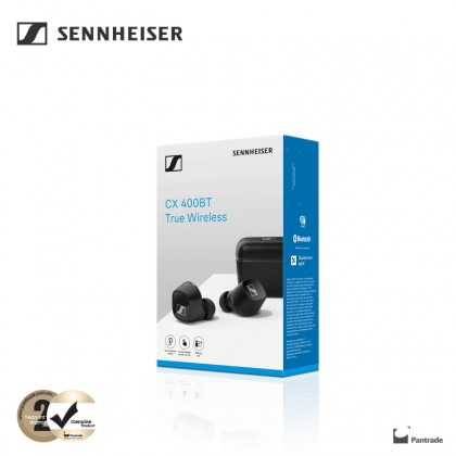 Sennheiser CX 400BT True Wireless ( Black / White ) CX400 TW1