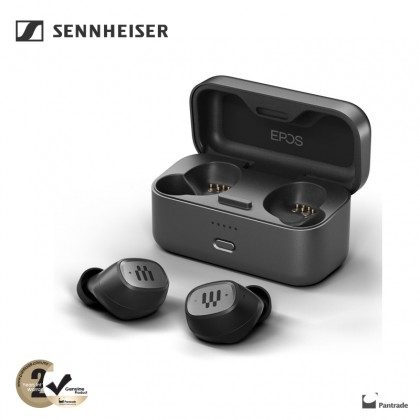 EPOS GTW 270 Hybrid Closed Acoustic Wireless Earbuds with Dongle ( Ready Stock )