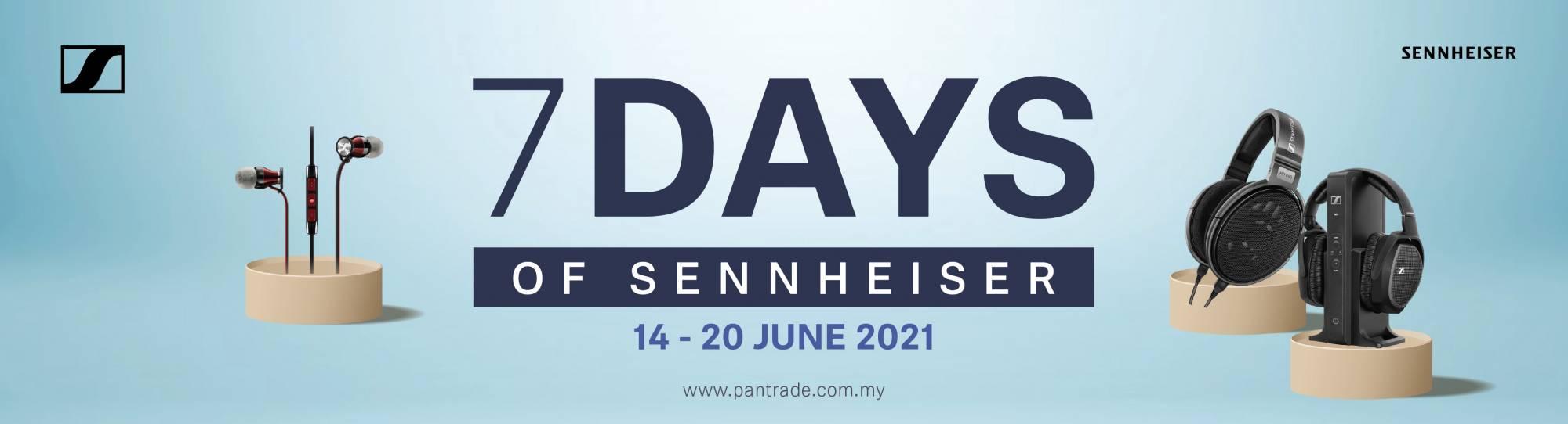7days of Sennheiser